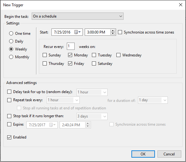 breaking down automation in task scheduler sql agent and cron